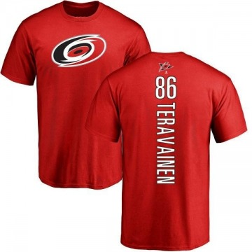 Men's Teuvo Teravainen Carolina Hurricanes Backer T-Shirt - Red
